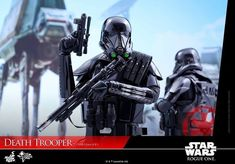 Galaxy Fantasy: Fantástica figura de acción 'Death Trooper' de la película Rogue One: A Star Wars Story