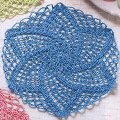 Crochet Lace Doily- 42 Quick & Easy Crochet Doily Pattern DIY to Make Vintage Crochet Doily Pattern, Crochet Doily Rug, Stitch Crochet, Crochet Dollies, Thread Crochet, Crochet Crafts, Crochet Coaster, Crochet Geek, Beginner Crochet Projects