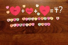 Pregnancy announcement for baby due in February! (So happy to find a productive use for the stale conversation hearts languishing in the back of my pantry! Valentines Pregnancy Announcement, Baby Due, Surprise Baby, Bun In The Oven, Converse With Heart, Baby Planning, Pregnancy Photos, Maternity Photos, Baby Makes