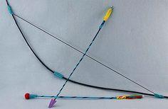 DIY Bow and Arrows