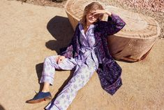 Cotton Pyjamas, Pajamas, Somerset Collection, Silk Robe Long, Passion Flower, Lounge Wear, Harem Pants, Product Launch, Pairs