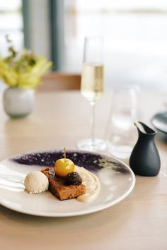 Decadent delights at Cavalli Estate. Paired with a glass of the estate's MCC 'Capriole' Growing Seeds, Fine Wine, Wine Tasting, Wines, Whole Food Recipes, Wedding Venues, Restaurant, Ethnic Recipes, Glass