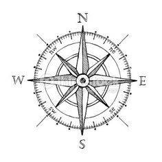 Compass wind rose hand drawn design element Vektorgrafik : Compass wind rose hand drawn Vektor-design-element This image has get Compass Art, Compass Drawing, Compass Vector, Compass Tattoo Design, Nautical Compass Tattoo, Compass Rose Tattoo, Tattoo Arrow, Dragonfly Tattoo, Sextant Tattoo