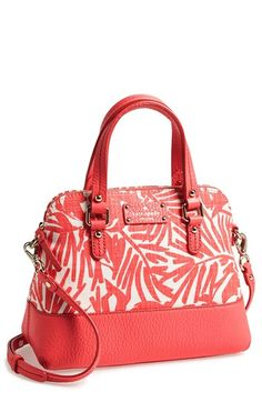 kate spade new york 'grove court - fabric maise' satchel available at #Nordstrom