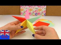 Origami Star 5 elements Tutorial: How to make an five-pointed Origami Star - YouTube