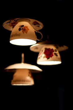 """For the possibly WONDERFUL """"alice in wonderland"""" themed dining room.  Wouldn't these lights just be the best?!"""