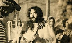 Country Joe & Jerry Garcia backstage at Newport Pop Festival 1968