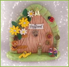 Fairy Door FD144 Herculite by CharmedFairyDoors on Etsy