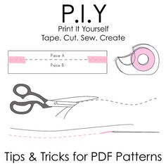 Tips on printing your own patterns