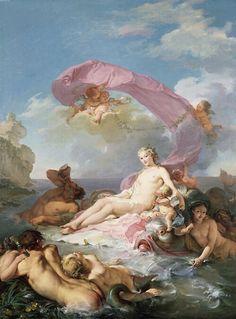 The Triumph of Amphitrite by Hughes Taraval