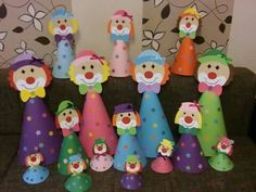 67 New Ideas For Birthday Party Activities For Toddlers Schools Kids Crafts, Clown Crafts, Carnival Crafts, Carnival Themed Party, Circus Theme, Circus Party, Preschool Crafts, Halloween Crafts, Diy And Crafts
