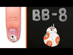 BB-8 Nail Art Might Be Even Cuter Than The Real BB-8 | Disney Style | Beauty