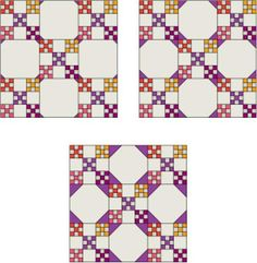 Snowball Quilt Block Patterns: Choose the Best Size for Snowball Corner Triangles - thinking of making an I Spy quilt with snowball blocks JK