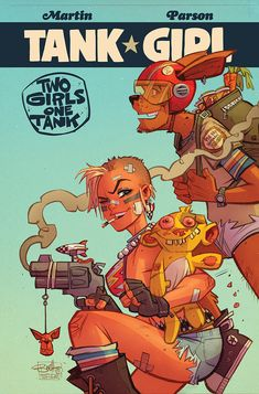 Tank Girl : Two Girls One Tank #2 by blitzcadet on DeviantArt