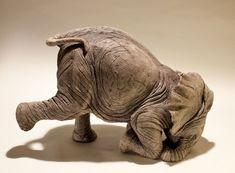 nick mackman elephant sculpture