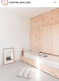Kitchen Trendy spare bedroom storage ideas hidden bed How Parents Can Affect T Small Apartments, Small Spaces, Small Living, Living Spaces, Living Room, Kitchen Living, Cama Murphy, Plywood Interior, Hidden Bed