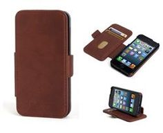 Funda Flip wallet Kensington para iPhone 5 marrón