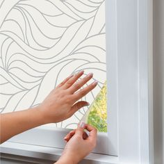 Give your home a fresh outlook with Decorative Window Film -- the stunning designs come alive as light shimmers through.