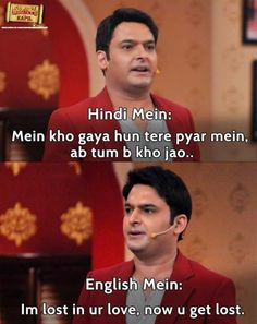 Kapil is Awesome with his timing in comedy!!!!