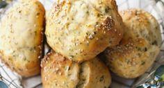 Low Carb Brötchen mit Quark Baked Potato, Hamburger, Potatoes, Keto, Bread, Vegetables, Ethnic Recipes, Food, Parmesan