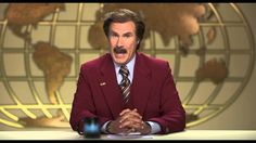 Official Anchorman 2: The Legend Continues bringing you a Moment Worth P...