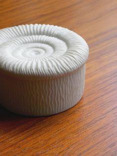Kaiser White Matte Porcelain Lidded Trinket Box by MidCenturyFLA
