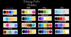 Colour Pallete, Color Palettes, Color Combos, Color Schemes, Disney Princess Colors, Disney Colors, Ipad Pro Tips, Green Queen, Friendship Bracelets Designs