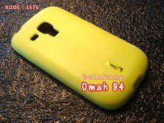 Jual Silikon Soft Case Samsung Galaxy S3 Mini i8190 Hijau (Green) Melon | Toko Online Rame | KODE BARANG : 1576