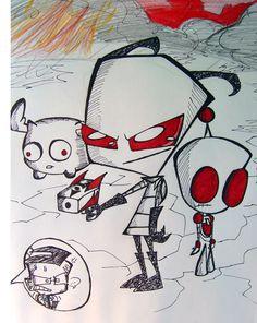 Dib's Nightmare by shadowpiratemonkey7.deviantart.com on @DeviantArt