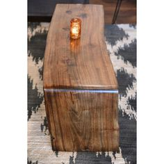 Mitered Reclaimed Live Edge Coffee Table ($1,249) ❤ liked on Polyvore featuring home, furniture, tables, accent tables, coffee & end tables, grey, home & living, living room furniture, wood coffee table and grey wood coffee table