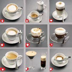 ENG In Italy we have a lot of ways to ask for a coffee :-) ESP En Italia tenemos muchas maneras de pedir un café :-)