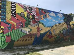 San Antonio Eastside mural Mural Art, San Antonio, Street Art, Fair Grounds, Places, Fun, Travel, Wall Art, Viajes