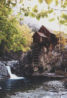 celestiol:  The Crystal Mill | by Kevin Russ | Website.
