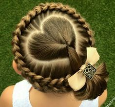 Who came up with this little girl's hairstyle?! LOVE it! So cute!!...