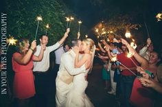 In Your Eyes Photography #austinbridal #sparklers #vavavoom #austinmua #classicbridal