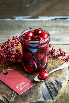 From The Kitchen: Vodka and Vanilla Cherries