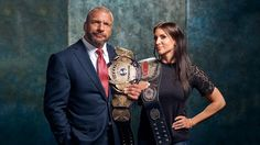WWE Current Superstars, classic championships. Triple H & Stephanie McMahon
