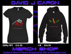 David J Caron Merchandise Design at Dizzyjam Design T Shirt, Shirt Designs, T Shirts For Women, Sweatshirts, Lady, Sweaters, Album, Artwork, Sweater