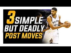 3 Simple BUT Deadly Post Moves: Footwork For Centers and Power Forwards - YouTube