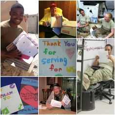Kids looking for something to do? They can make cards, write letters and draw pictures for deployed troops, recovering wounded warriors and veterans -- and we'll send them in our care packages!