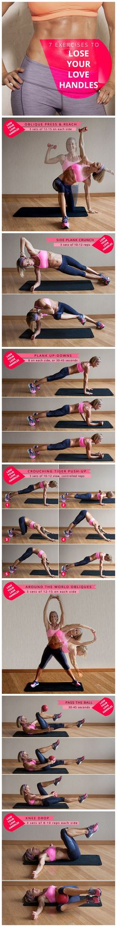 How To Lose Love Handles #weightloss