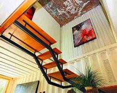 Idekit Stairs Maison IDEKIT Quebec Container Home