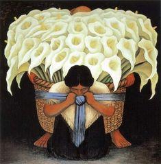 Mexican week post 2: Diego de la Rivera   Anjas' Theme Of The Week