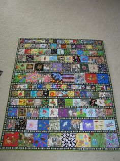 """""""I Spy"""" quilt for my friend"""