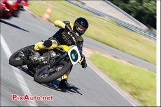 Yamaha Dirt Track, chicane nord Circuit Linas-Montlhery