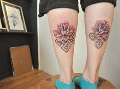 #lotus #lotustattoo #infiniteknot #tattoo