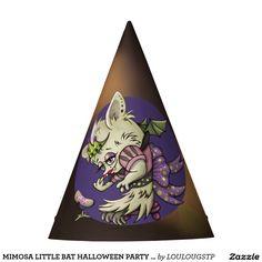 MIMOSA LITTLE BAT HALLOWEEN PARTY HAT