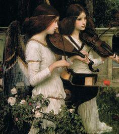 St Cecilia by John Waterhouse, 1895
