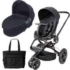 Special Offers Available Click Image Above: Quinny Moodd Pram Set Bassinet And Diaper Bag - Black Devotion Pram Sets, Black Diaper Bag, Prams, Toddler Gifts, Bassinet, Baby Strollers, Toddlers, Shopping, Image