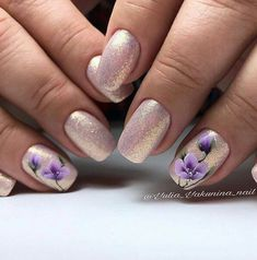 Fashionable manicure for the summer of 2019 - trends, new gel polishes and decor White Nail Art, Pink Nail Art, Flower Nail Art, Sexy Nails, Cute Nails, Pretty Nails, Crazy Nail Art, Crazy Nails, Nail Art Blanc